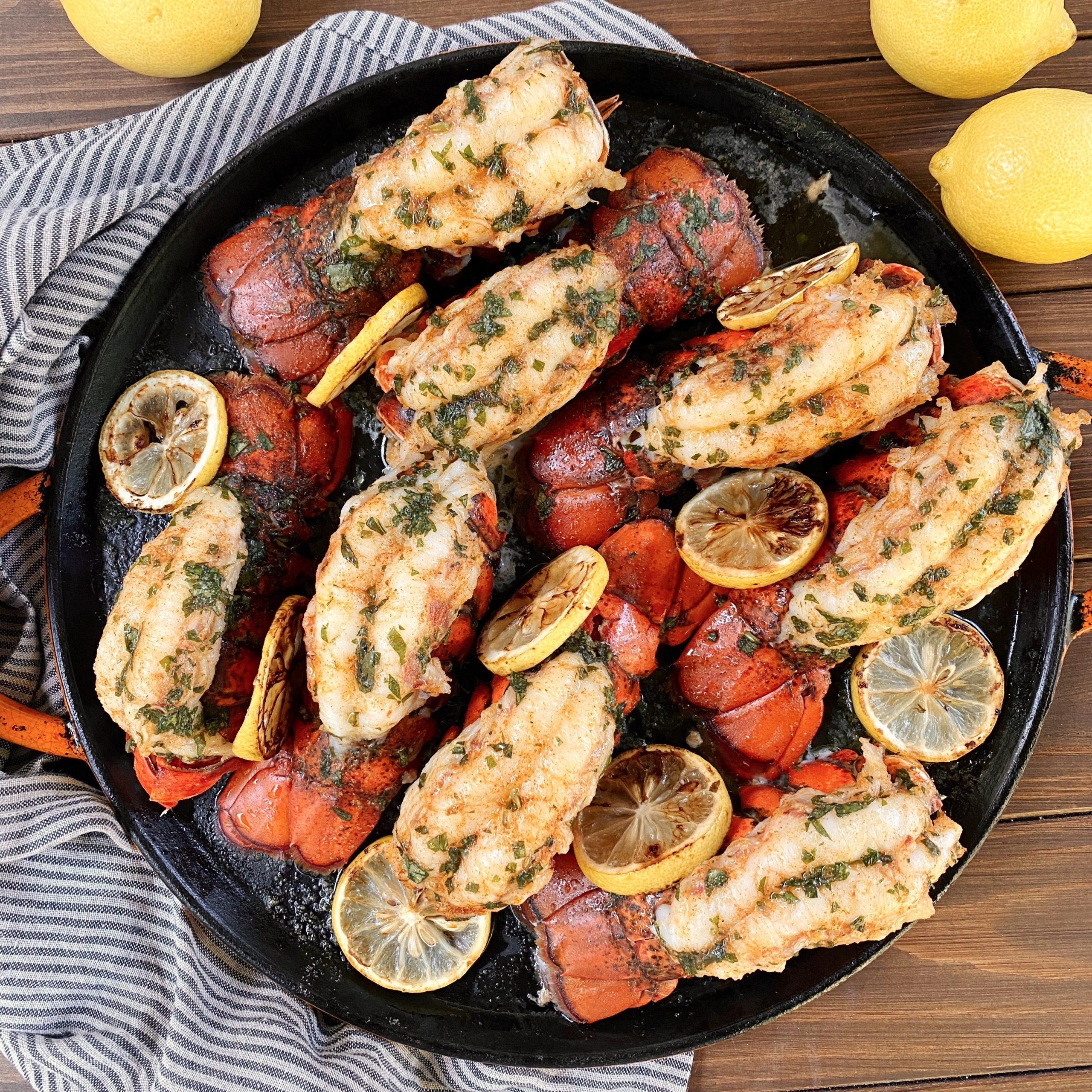 How to make lobster tails