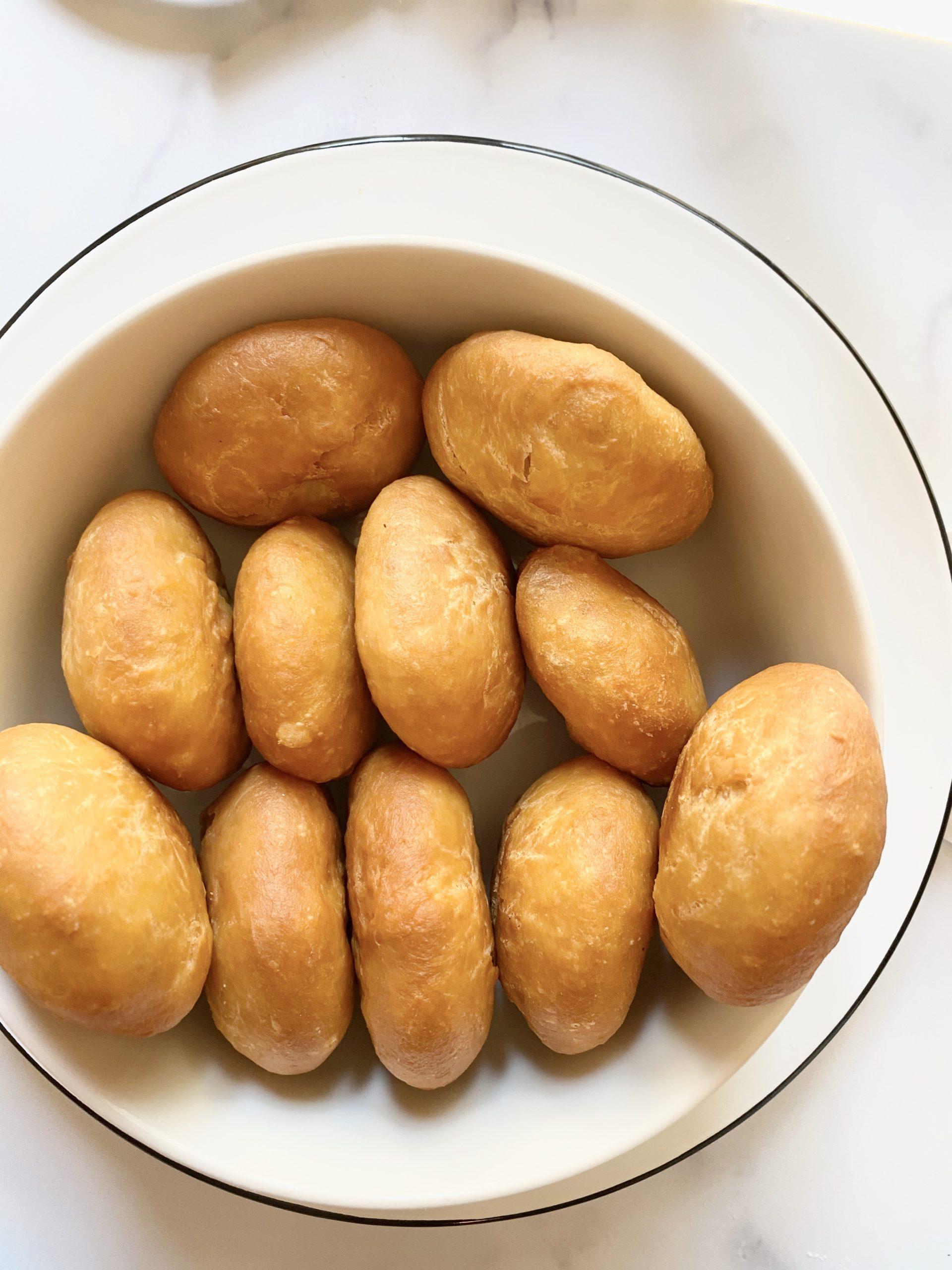 Golden Dominican bakes
