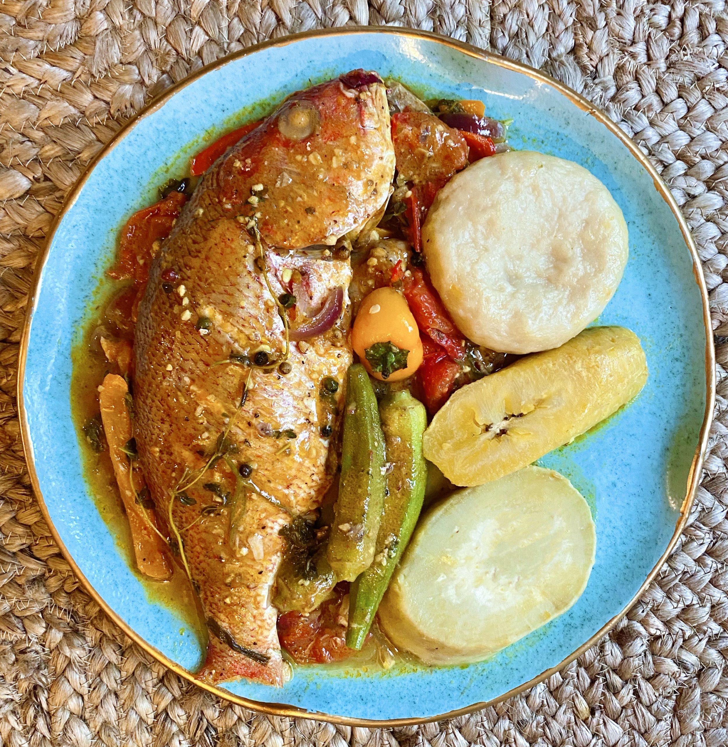 Dominica coubouillon recipe