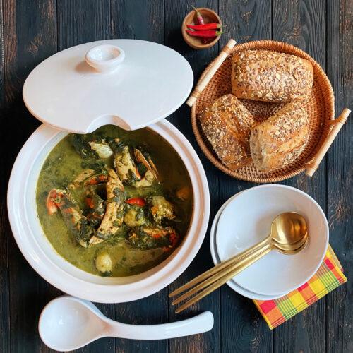 Dominican callaloo soup recipe