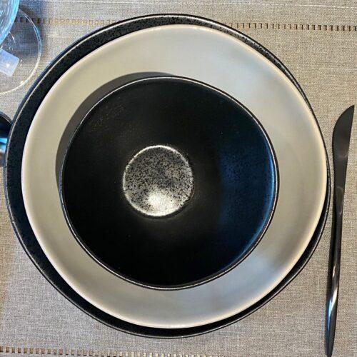 Black Matte Silverware Set