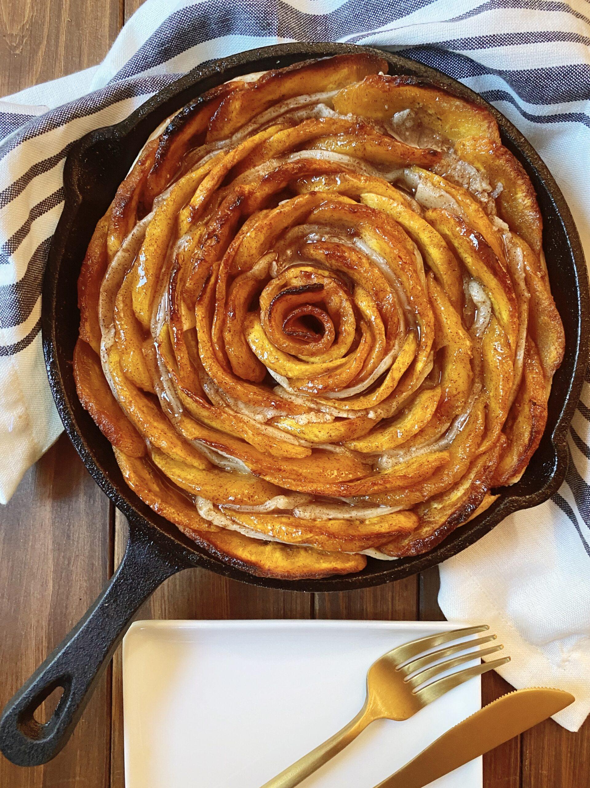 Delicious sweet plantain pie