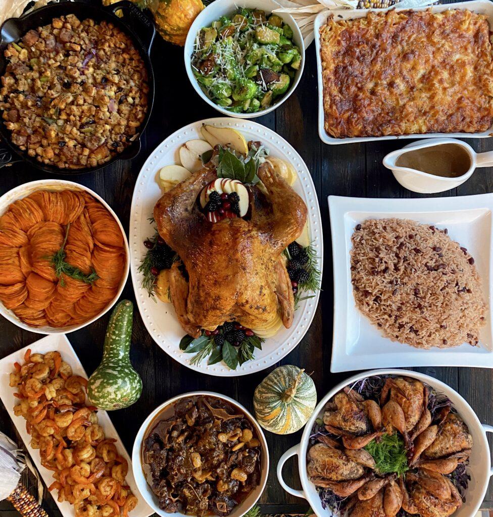 hearty thanksgiving dinner