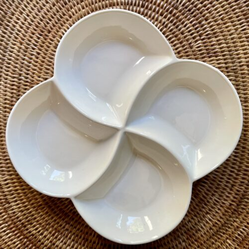 Four Section Dish